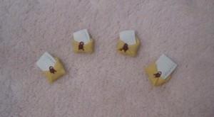 accesorii craciun - cercei scrisoare catre mosu